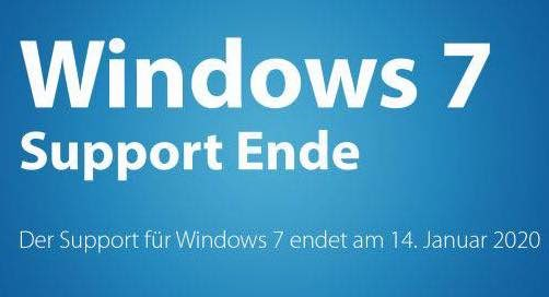 Windows 7 Support Ende