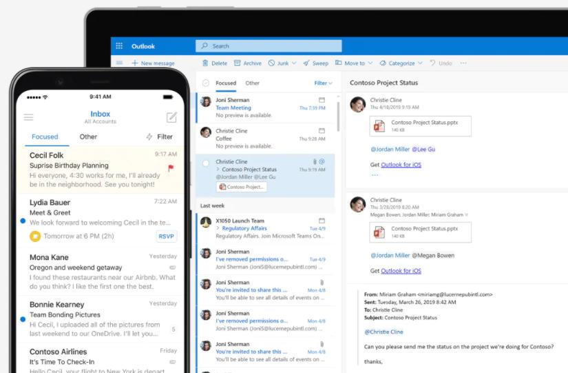 E-Mail-Server von Microsoft