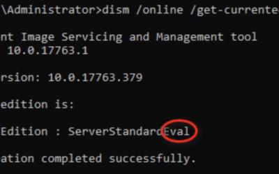 Microsoft Server Evaluation – Aktivierung scheitert? So klappt's!